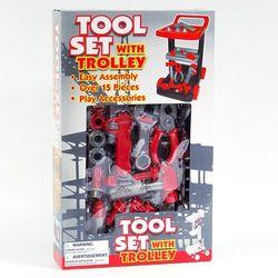 Набор строительных инструментов Tool Set с тележкой 1097172