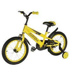 """Двухколесный велосипед Lamborghini 16"""" JL1MY желтый"""
