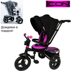 Трехколесный велосипед-коляска VIP TRIKE V5 Purple