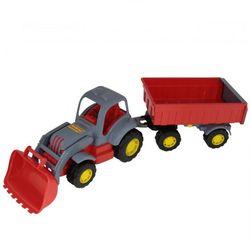 Трактор с прицепом №1 и ковшом Силач П-45027