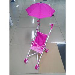 Коляска для кукол трость прогулочная с зонтиком 6100U