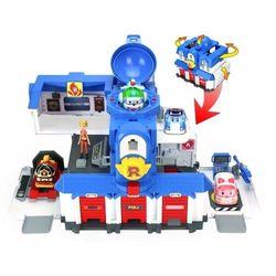 Игровой набор Робокар Поли Штабквартира с фигуркой Джин 83304