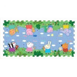 Коврик-пазл Peppa Pig Пеппа и друзья, 8 сегментов 30130