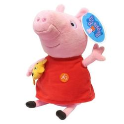 Мягкая игрушка Свинка Пеппа звук 30 см 30117