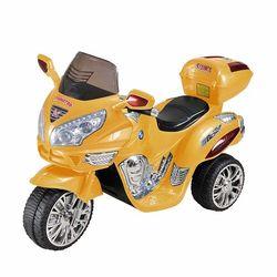Электромобиль Moto HJ 9888 желтый