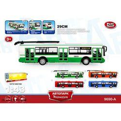 Троллейбус свет, звук X600-H09065 в ассортименте