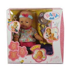 Пупс Baby Doll (пьет, сосет соску, писает) B553177